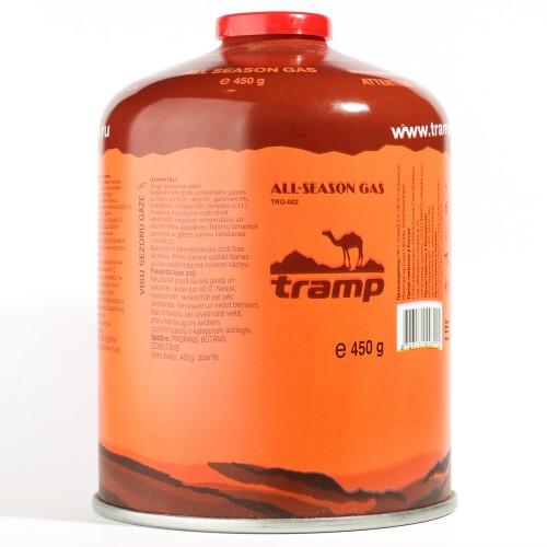 Резьбовой газовый баллон Tramp 450 г