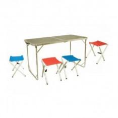 Tramp мебель набор  в кейсе 120*60*55/60/70см./ 41*36*40см
