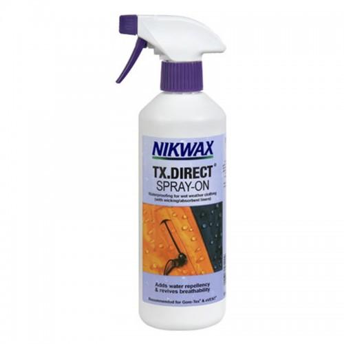 Пропитка для мембранных материалов Nikwax TX Direct Spray-On, 300 мл