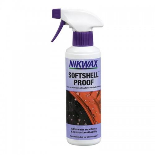 Пропитка для одежды Nikwax SoftShell Spray On, 300 мл