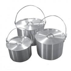 Набор алюминиевых котлов 4,8 л и 9 л Tramp TRC-085