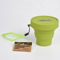 Tramp стакан силиконовый складной с крышкой 180 мл