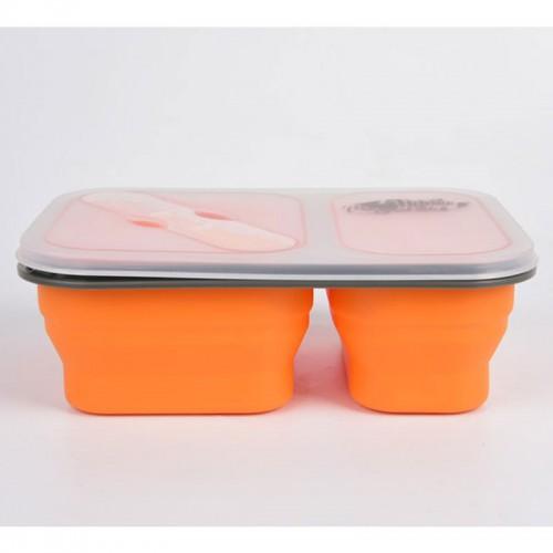 Двойной силиконовый контейнер 900 мл Tramp TRC-090
