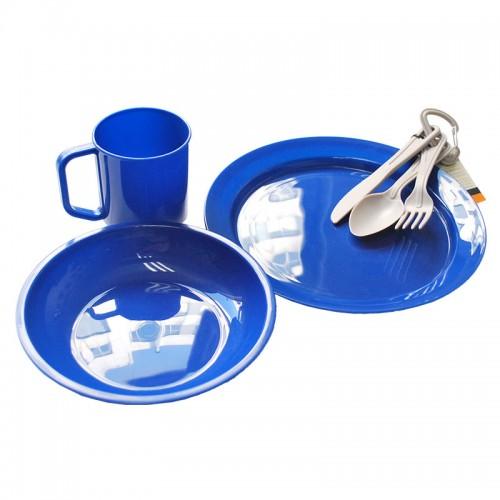 Набор пластиковой посуды на 1 чел. Tramp TRC-047
