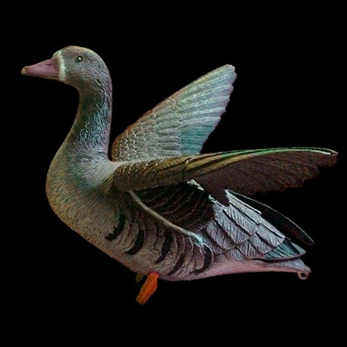 Sport Plast чучело машущего крыльями белолобого гуся, 1 шт.