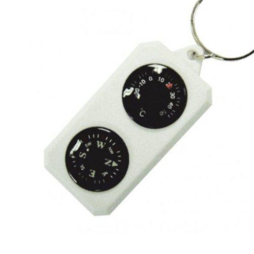 Компас-брелок с термометром Sol SLA-003