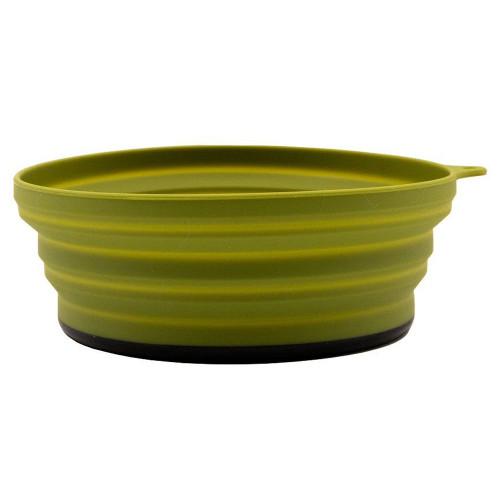 Tramp тарелка силиконовая с пласт. дном 15*15*8,5