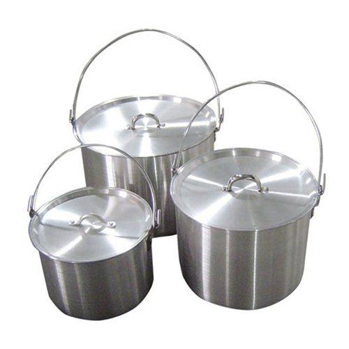 Набор алюминиевых котлов 4,8, 9 и 13 л Tramp TRC-086