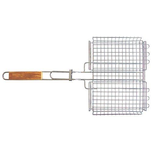 Решетка-гриль Totem с хромированным покрытием 30x24x4см