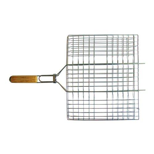 Решетка-гриль Totem с хромированным покрытием 40x30x4см