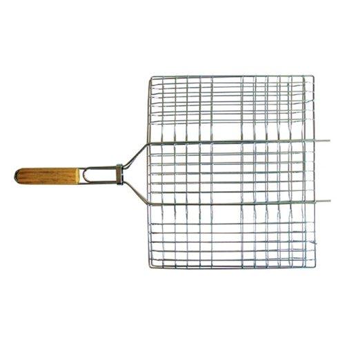 Плоская решетка-гриль Totem с хромированным покрытием 36x26,5см